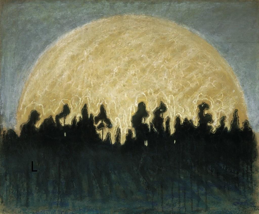 M. K. Čiurlionis. Saulė. 1907